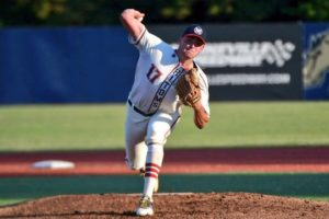 Ryan Cusick of the Hight Point-Thomasville HiToms Named 2020 Coastal Plain League Pitcher of the Year