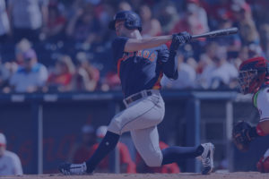 Former Blowfish Chas McCormick Makes MLB Debut With Astros
