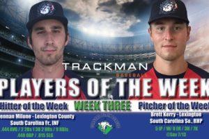 Milone and Kerry Named Week Three Coastal Plain League Players of the Week