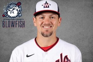 Former Lexington County Blowfish Wil Crowe Makes Major League Debut with Washington