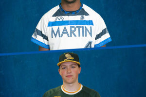 Christian Easley of Martinsville and Tom Chmielenski of Forest City Named Week Two Players of the Week